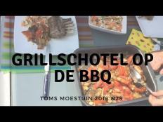 TM18#28 : Eerste mini kookvideo : Lente grillschotel op barbecue
