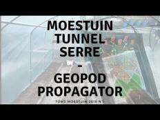 TM18#1: Mijn nieuwe tunnel serre en voortgang in propagator