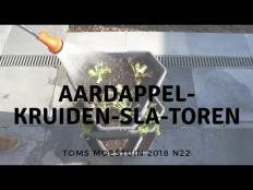 TM18#22 : Ik bouw een aardappel-kruiden-sla-toren op mijn terras